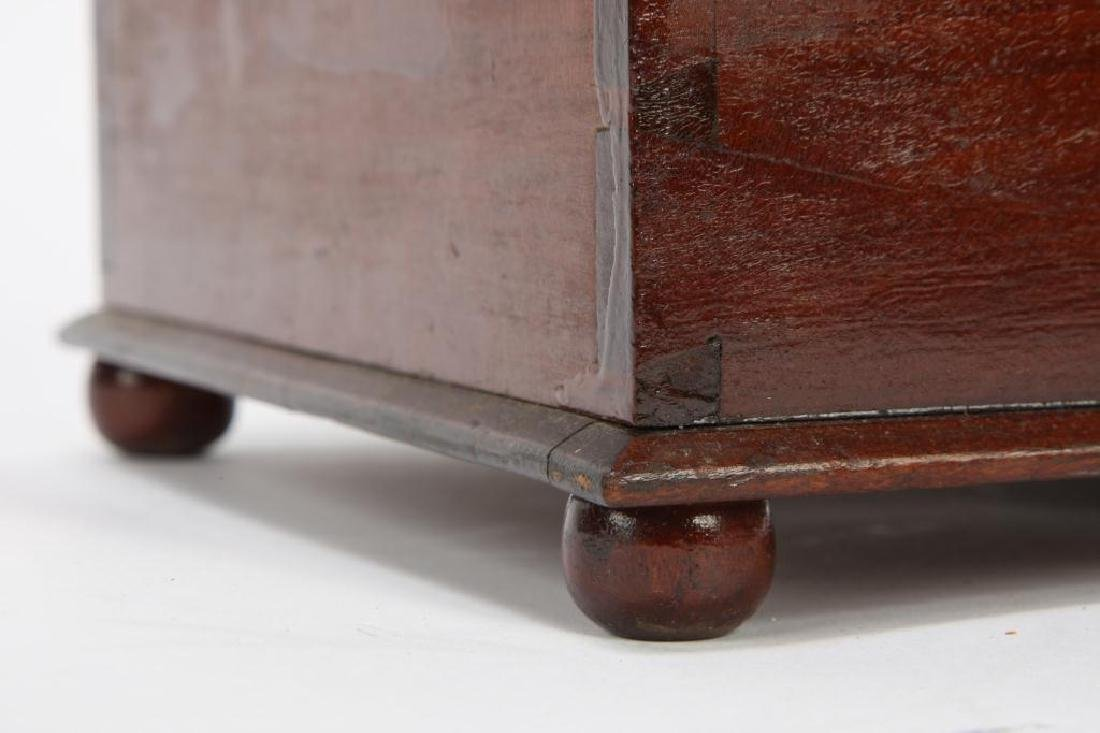 (19th c) CHERRY DOCUMENT BOX - 6