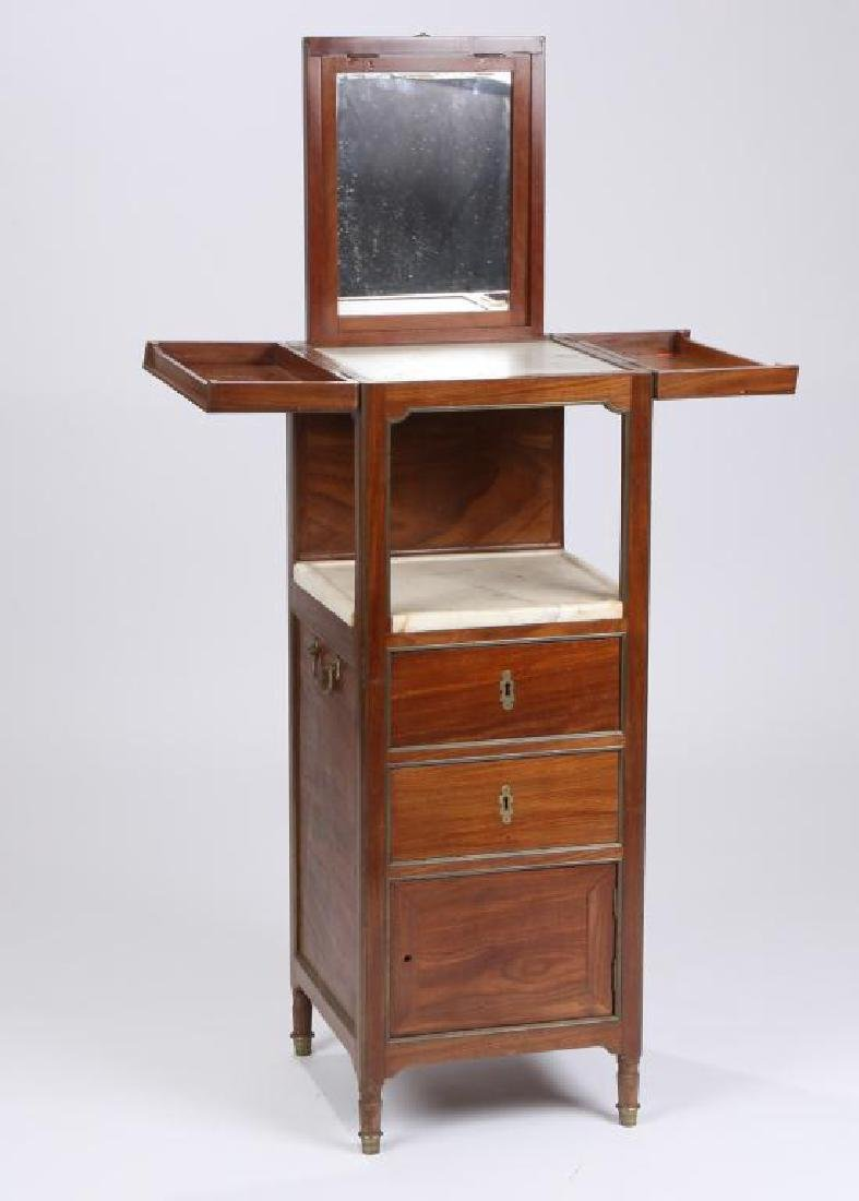 FRENCH DIRECTAIRE TRAVELING DRESSING TABLE - 8