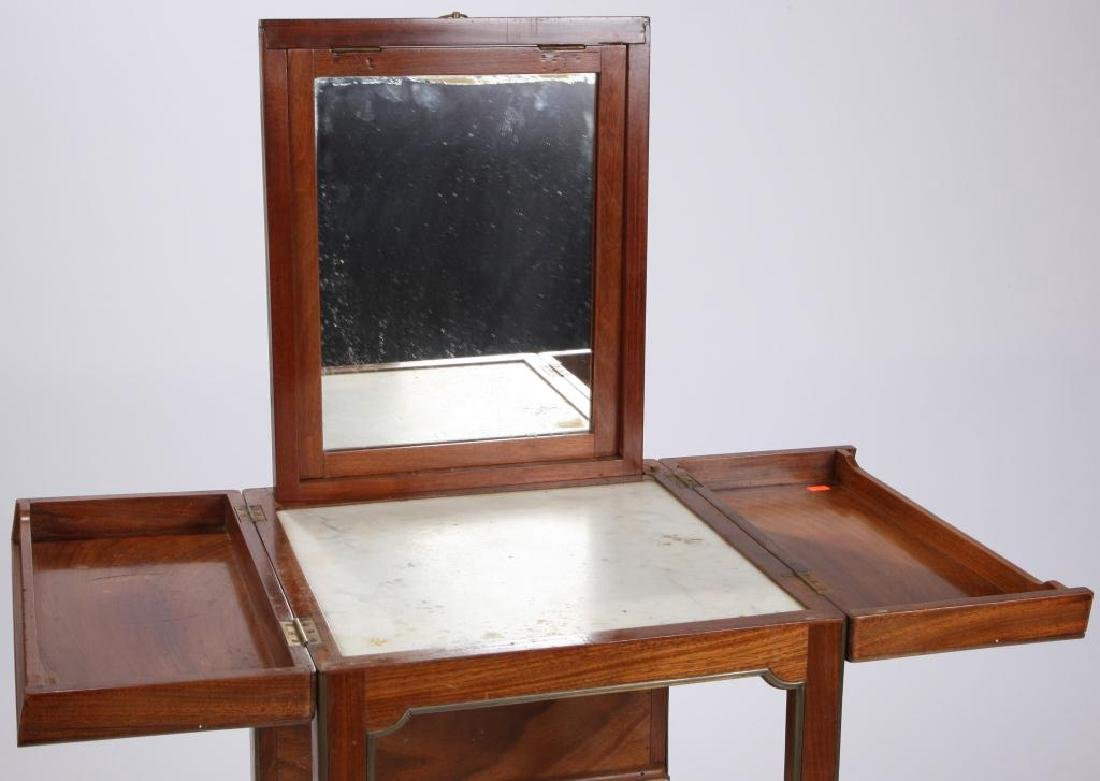 FRENCH DIRECTAIRE TRAVELING DRESSING TABLE - 9