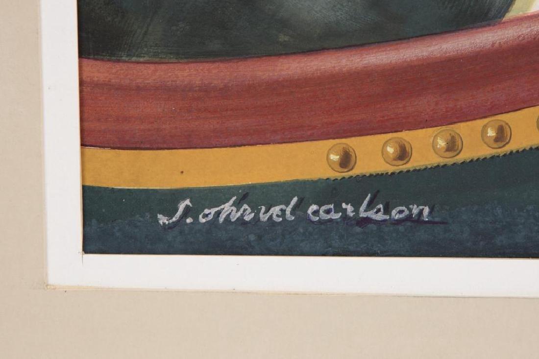 SVEN CARLSON (1911-2006) - 2