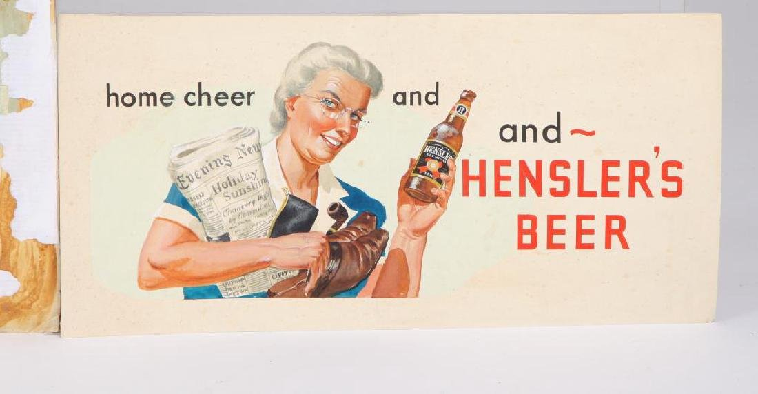 SVEN CARLSON (1911-2006) BEER ILLUSTRATIONS - 2
