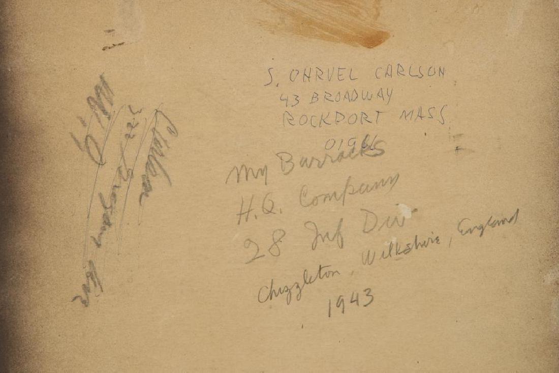 SVEN CARLSON (1911-2006) - 3