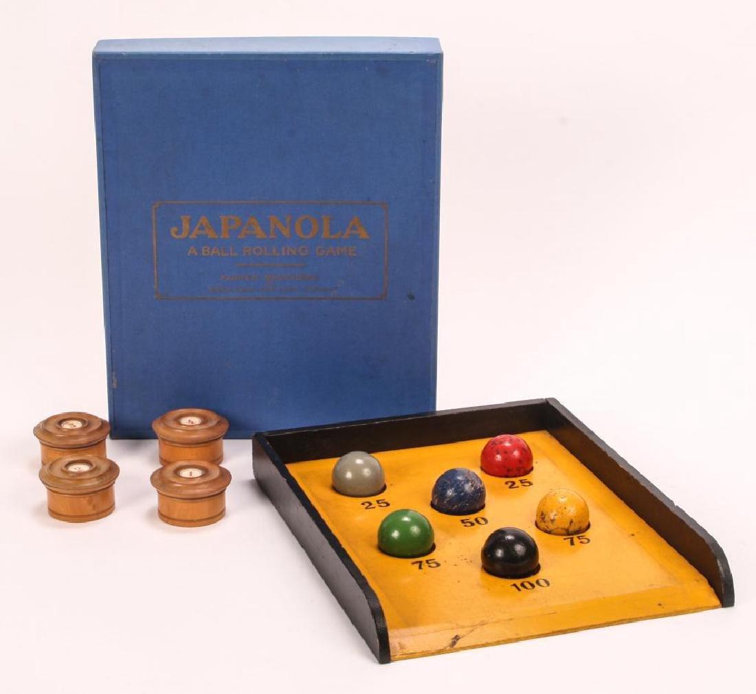 """ANTIQUE PARKER BROTHERS GAME """"JAPANOLA"""""""