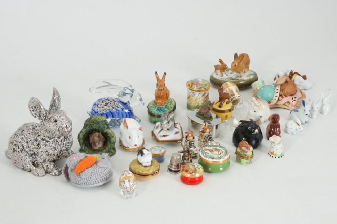 COLLECTION OF (38) CERAMIC RABBITS