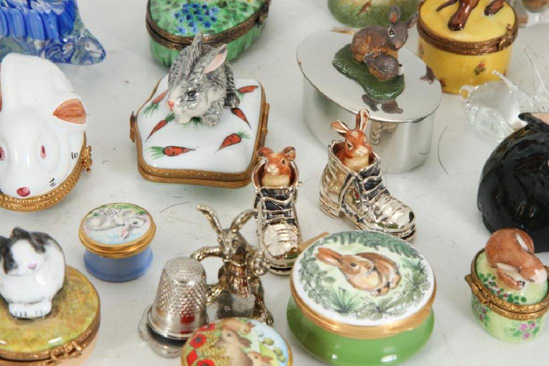 COLLECTION OF (38) CERAMIC RABBITS - 2