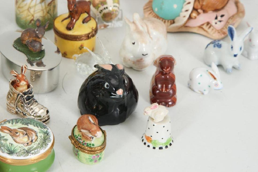 COLLECTION OF (38) CERAMIC RABBITS - 3