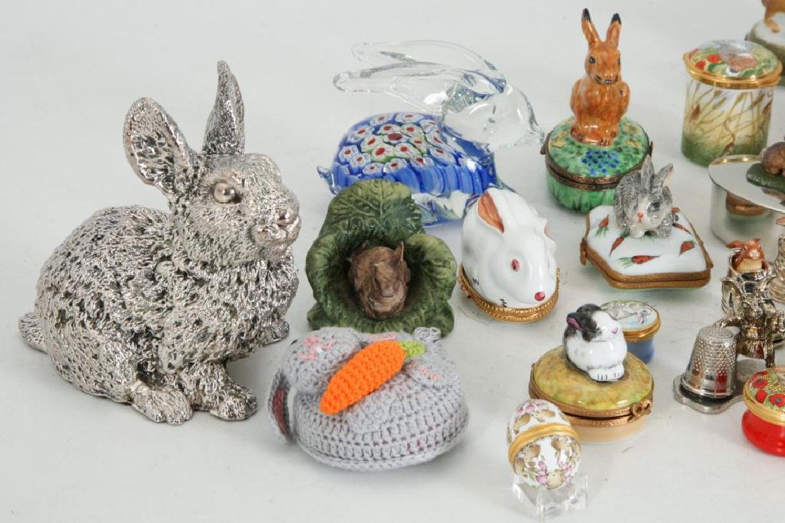 COLLECTION OF (38) CERAMIC RABBITS - 4