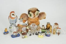 Collection Of (23) Owls