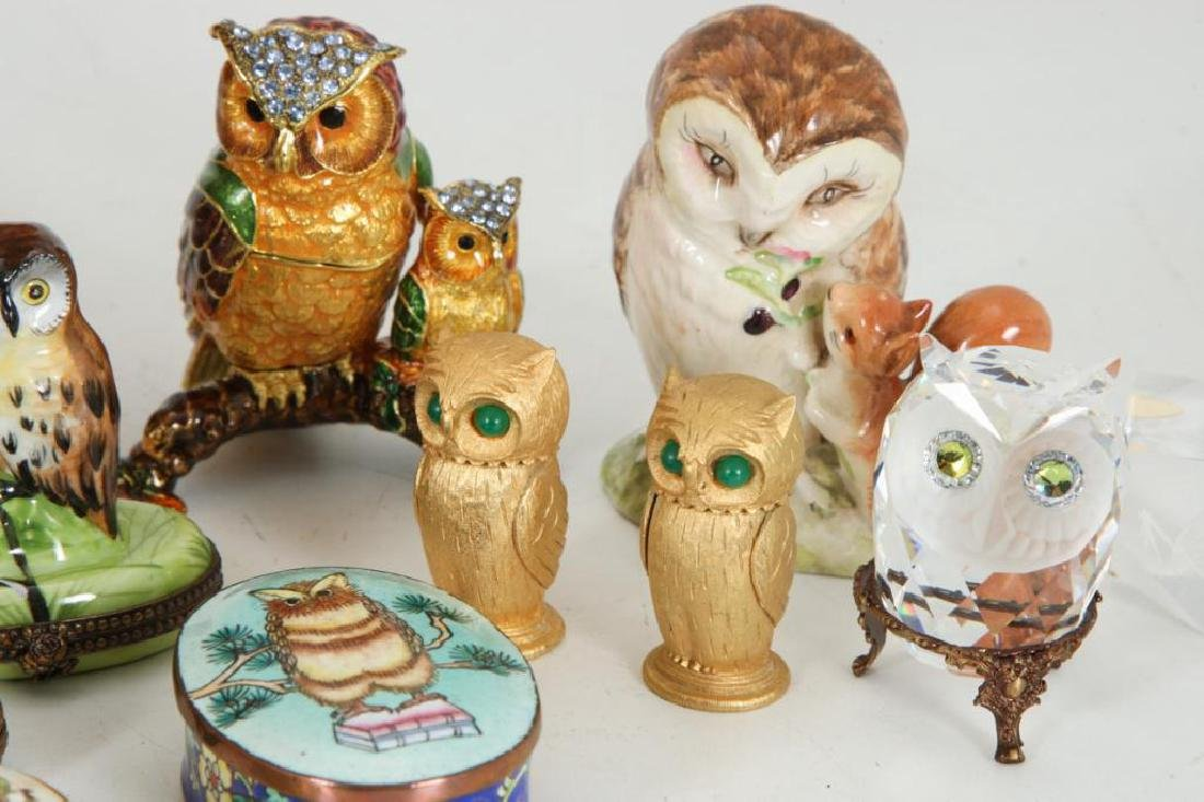 COLLECTION OF (23) OWLS - 2