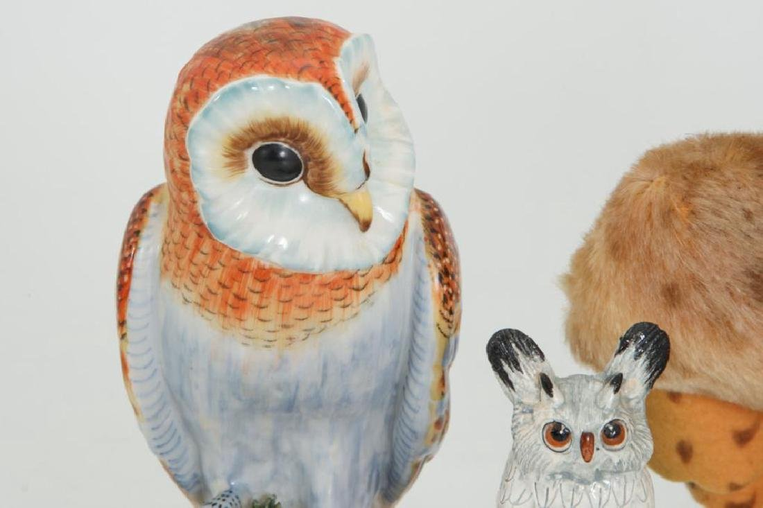 COLLECTION OF (23) OWLS - 3