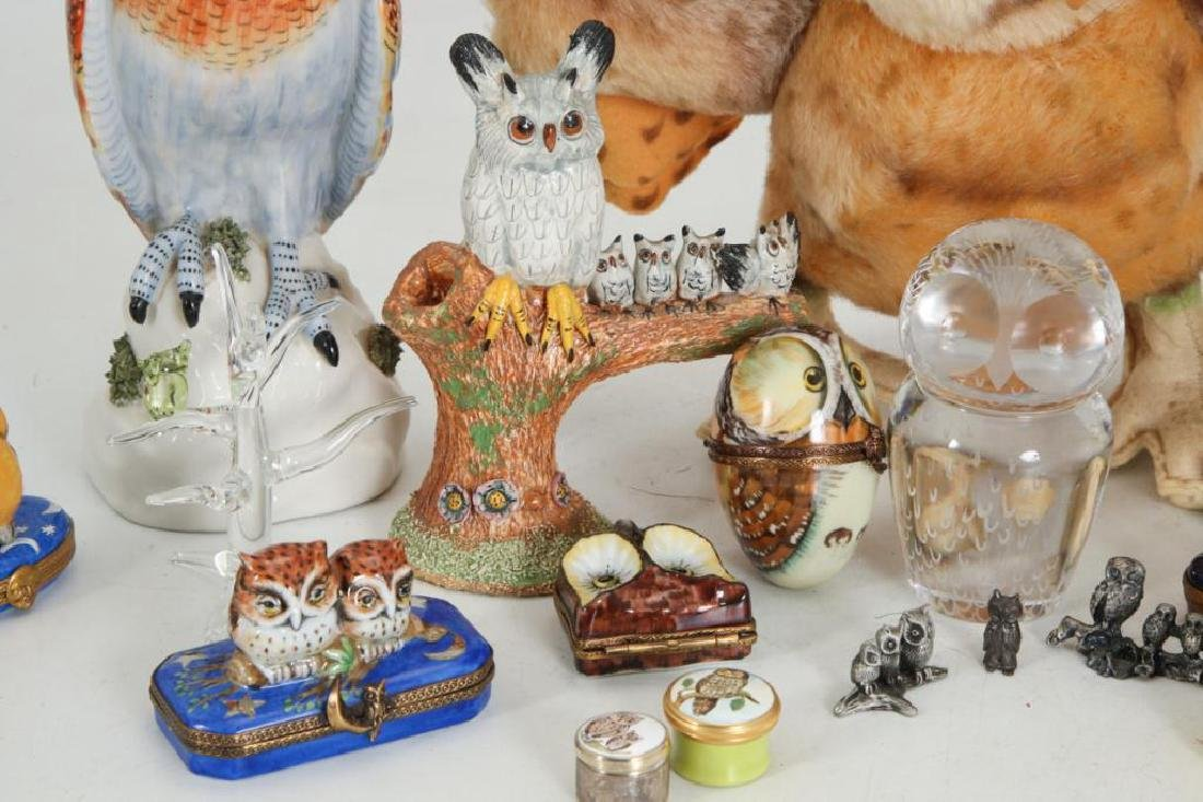 COLLECTION OF (23) OWLS - 4