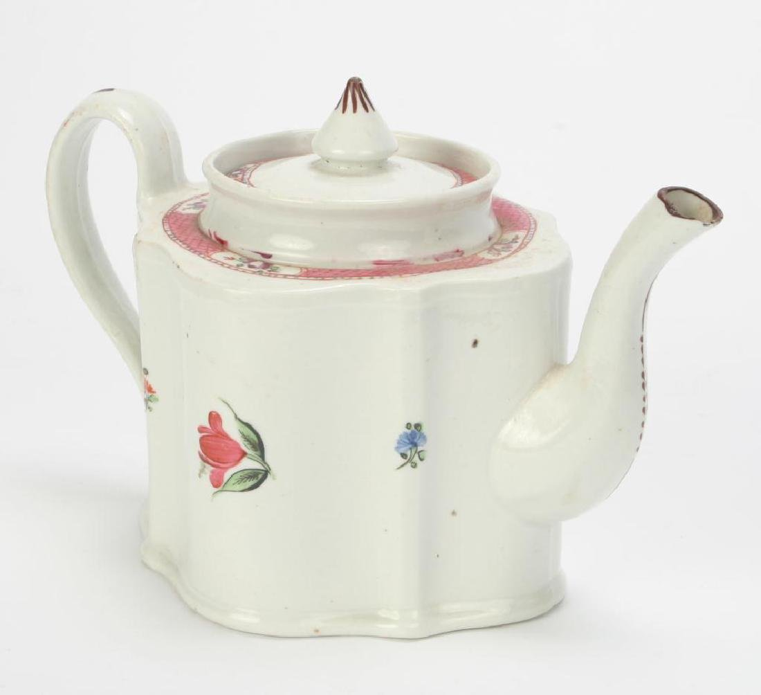 SOFT PASTE TEAPOT AND CUP & SAUCER - 10