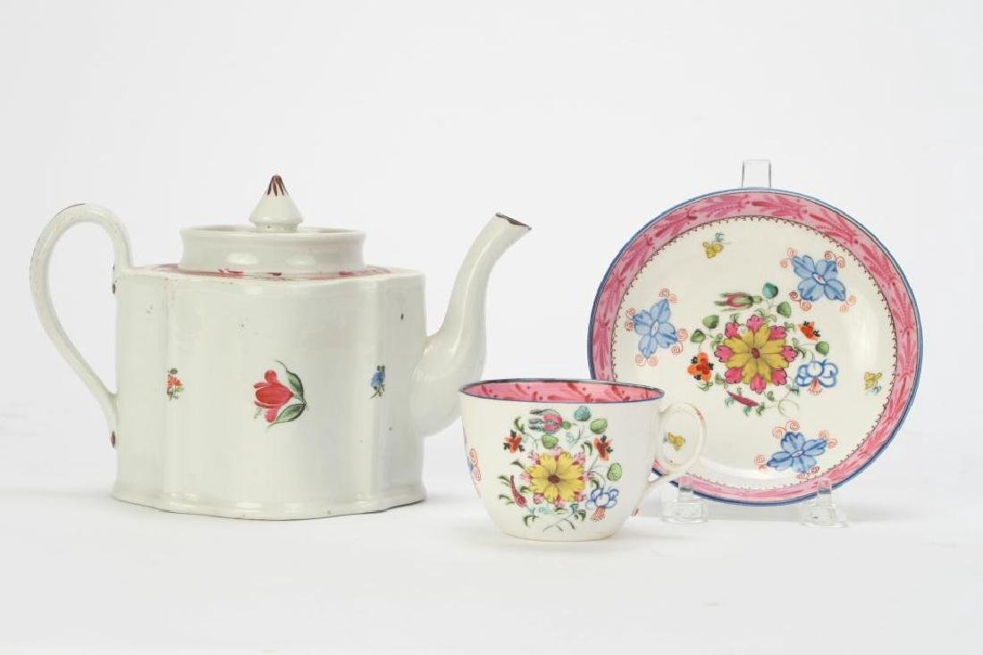SOFT PASTE TEAPOT AND CUP & SAUCER - 3