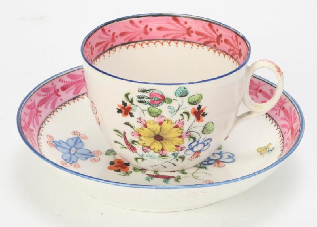 SOFT PASTE TEAPOT AND CUP & SAUCER - 6