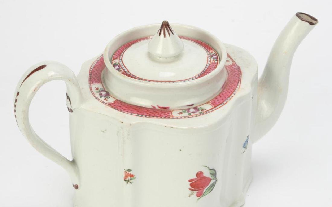 SOFT PASTE TEAPOT AND CUP & SAUCER - 7