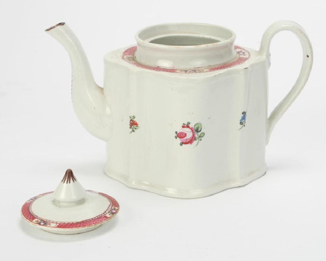 SOFT PASTE TEAPOT AND CUP & SAUCER - 9