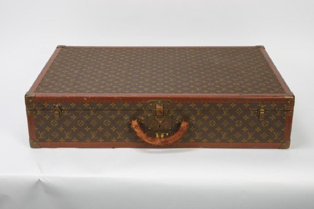 EARLY LOUIS VUITTON SUITCASE - 5