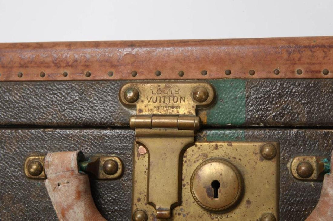 EARLY LOUIS VUITTON SUITCASE - 8