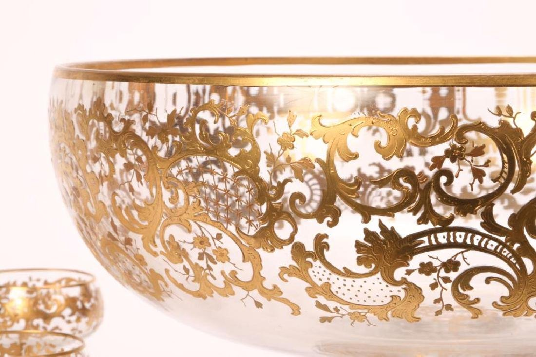 MOSHER QUALITY PUNCH BOWL SET with CUPS - 3