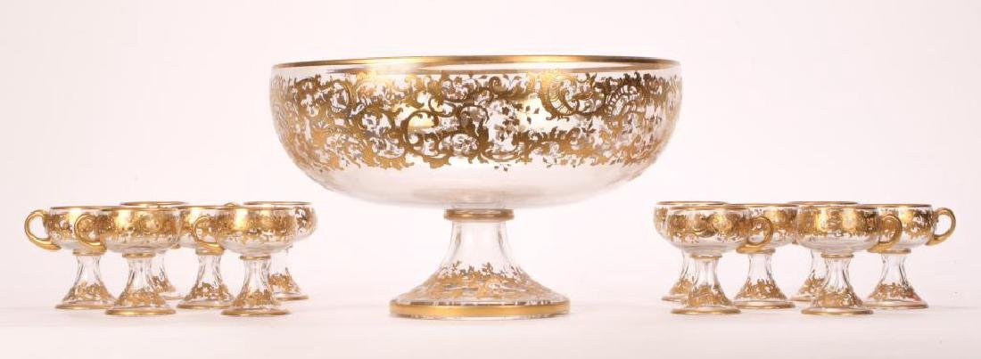 MOSHER QUALITY PUNCH BOWL SET with CUPS - 5