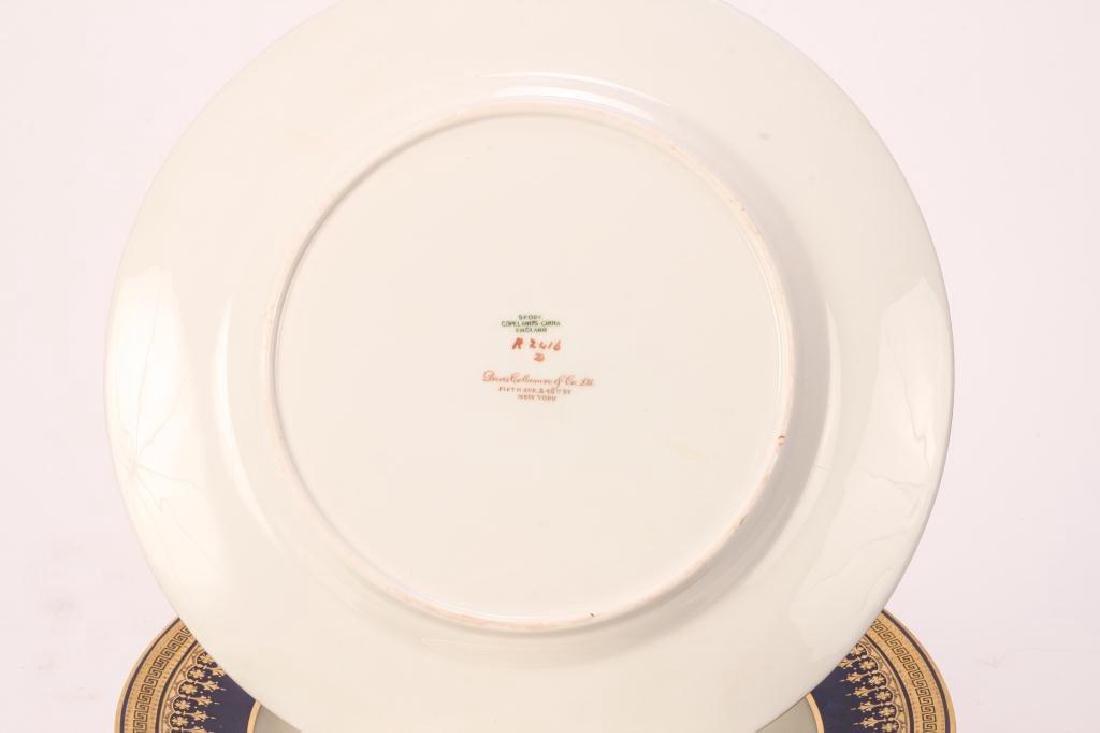 SET OF (12) SPODE COPELAND'S CHINA DINNER PLATES - 2