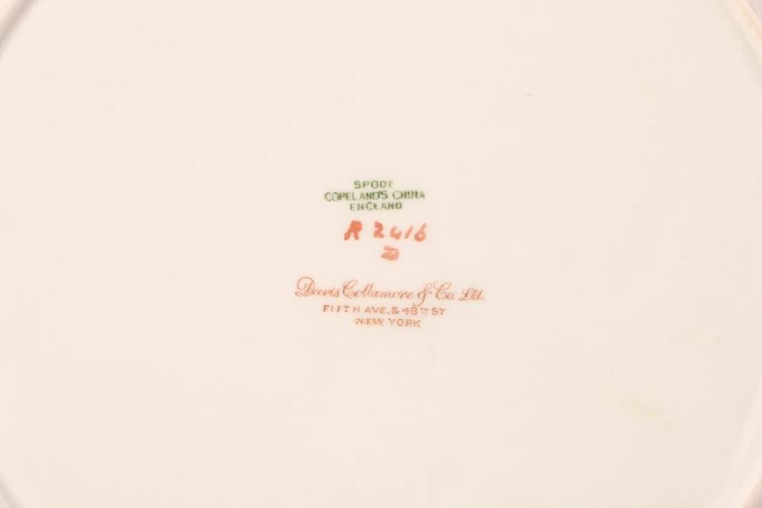 SET OF (12) SPODE COPELAND'S CHINA DINNER PLATES - 6