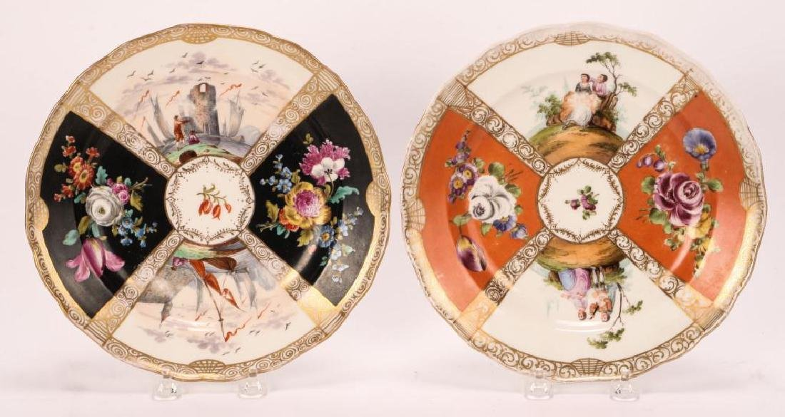 SET OF (7) MEISSEN PLATES - 7