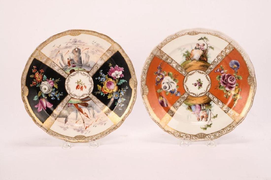 SET OF (7) MEISSEN PLATES - 8