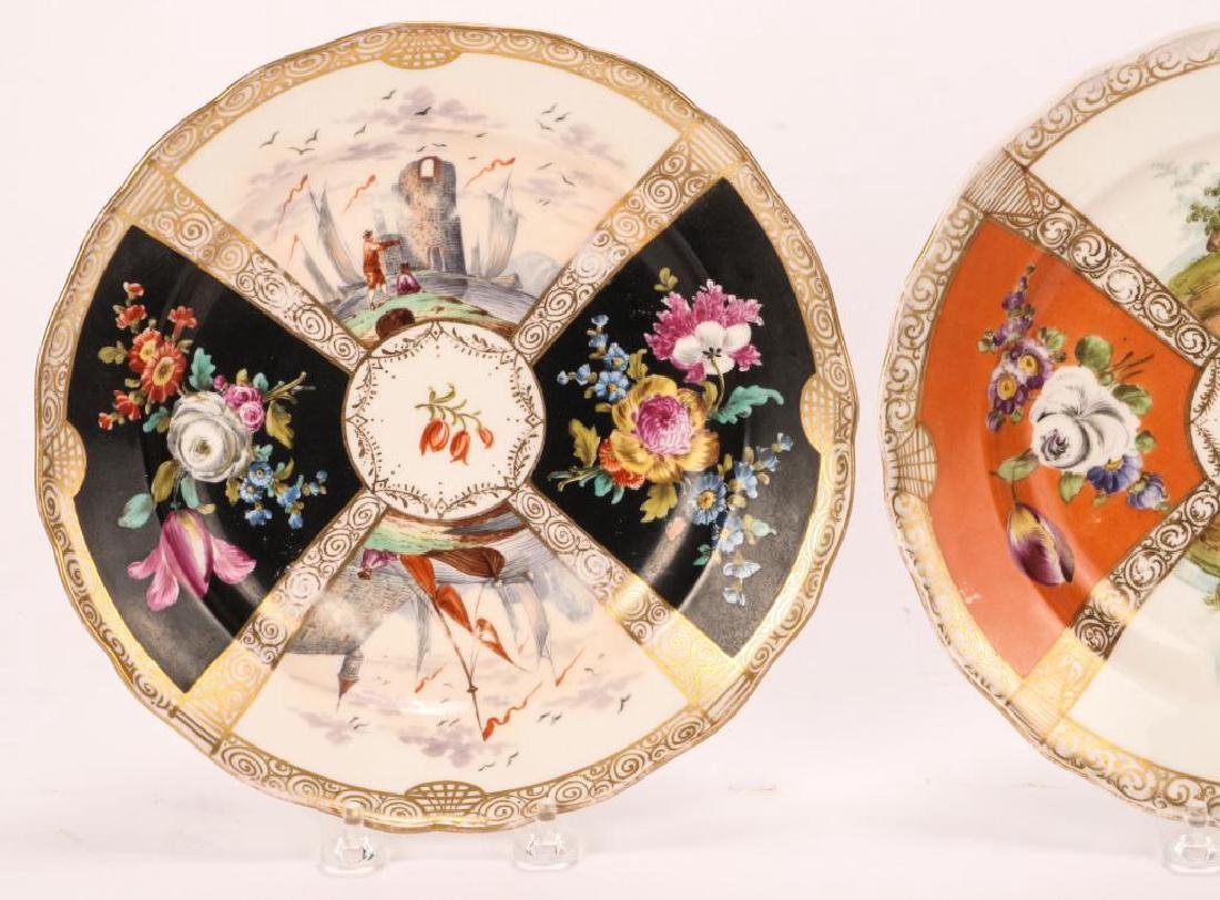 SET OF (7) MEISSEN PLATES - 9