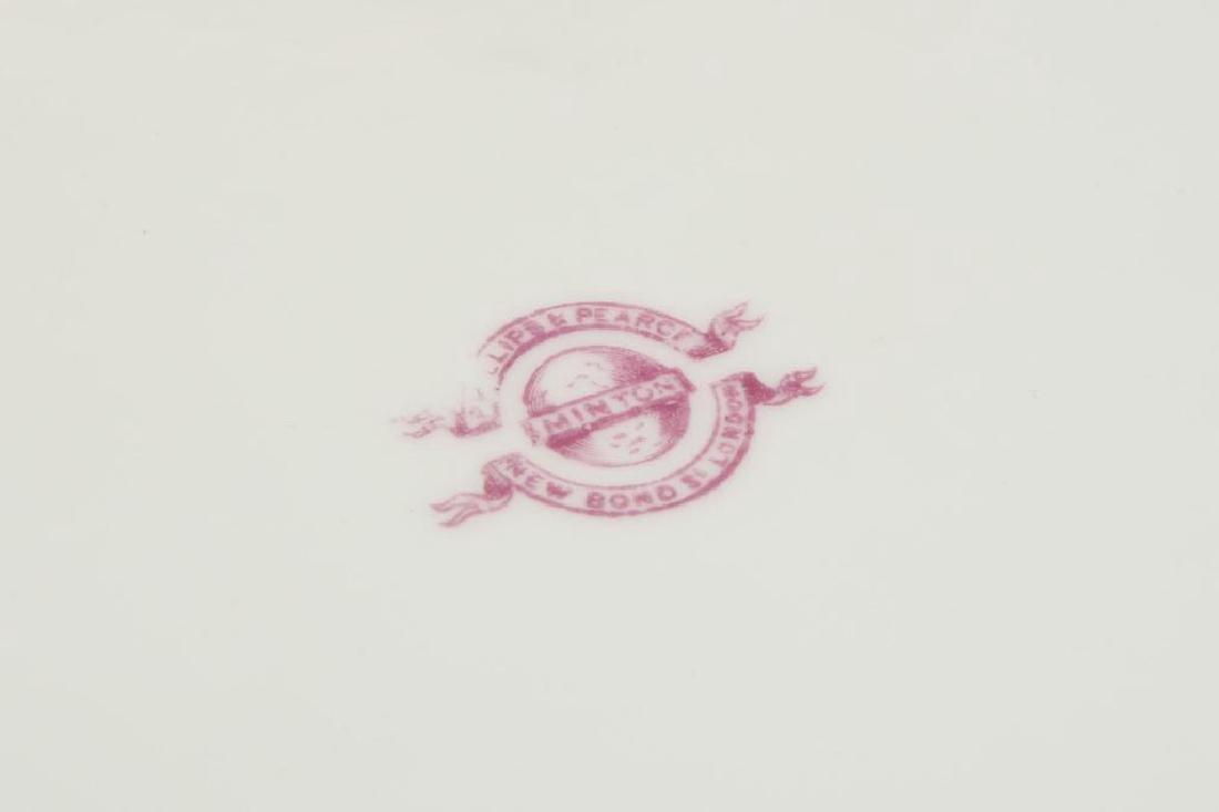 (25) PIECES OF MINTON PORCELAIN DINNERWARE - 4