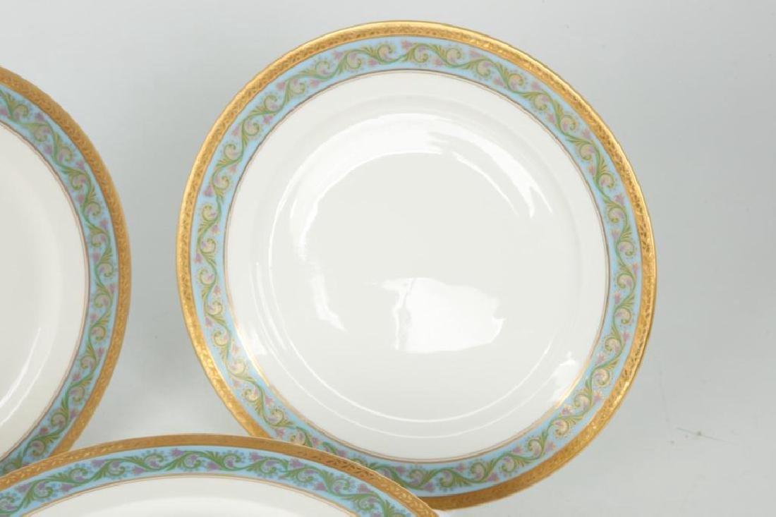 SET OF (12) LIMOGES ELITEWORKS DINNER PLATES - 2