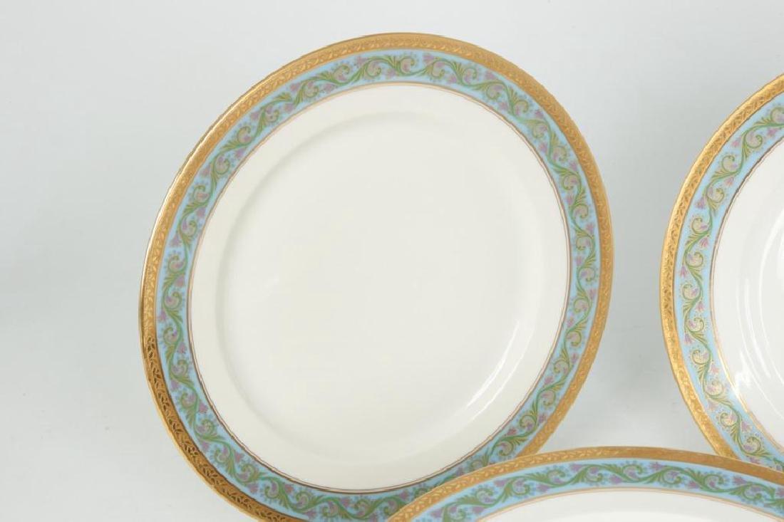 SET OF (12) LIMOGES ELITEWORKS DINNER PLATES - 3