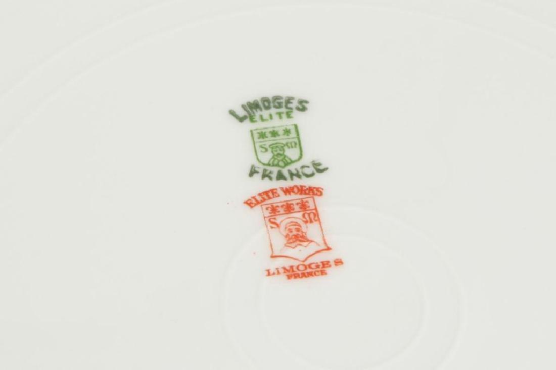 SET OF (12) LIMOGES ELITEWORKS DINNER PLATES - 4