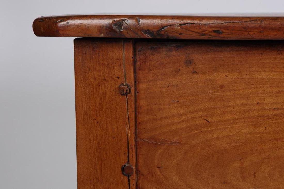 (19th c) CHERRY LIBRARY TABLE - 7