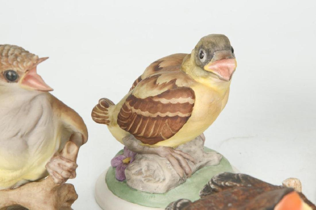 (7) BOEHM HAND PAINTED PORCELAIN BIRDS - 2
