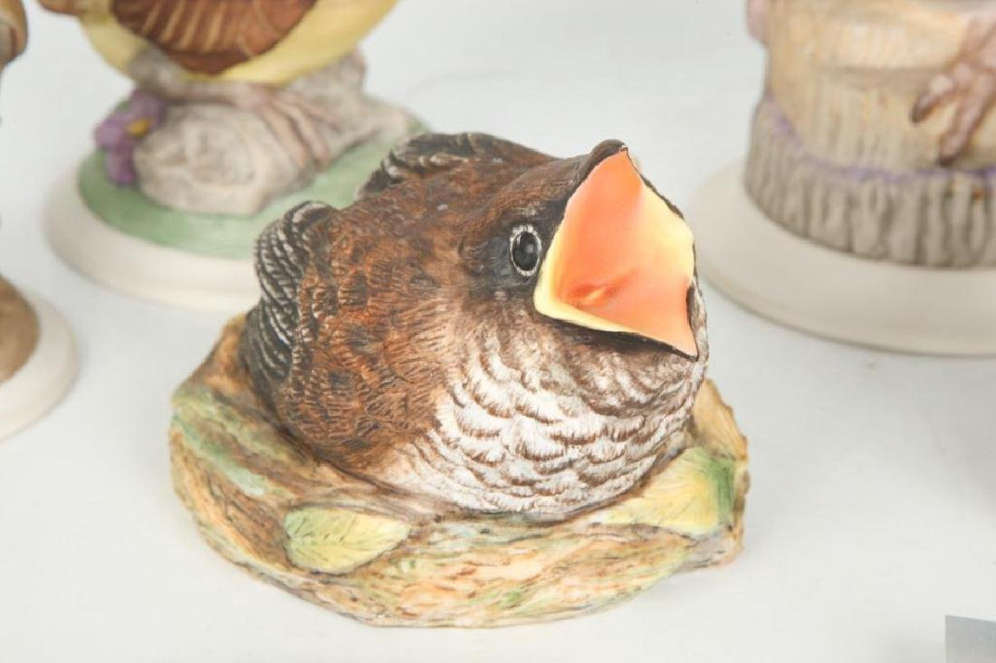 (7) BOEHM HAND PAINTED PORCELAIN BIRDS - 4