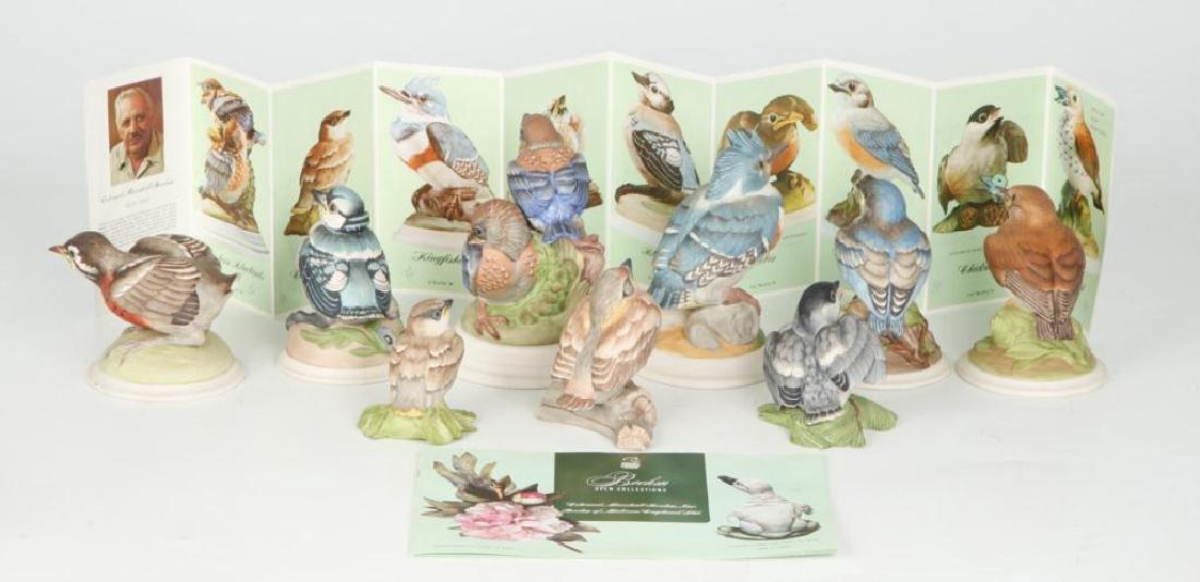 (9) BOEHM HARD PORCELAIN HANDPAINTED BIRDS - 3