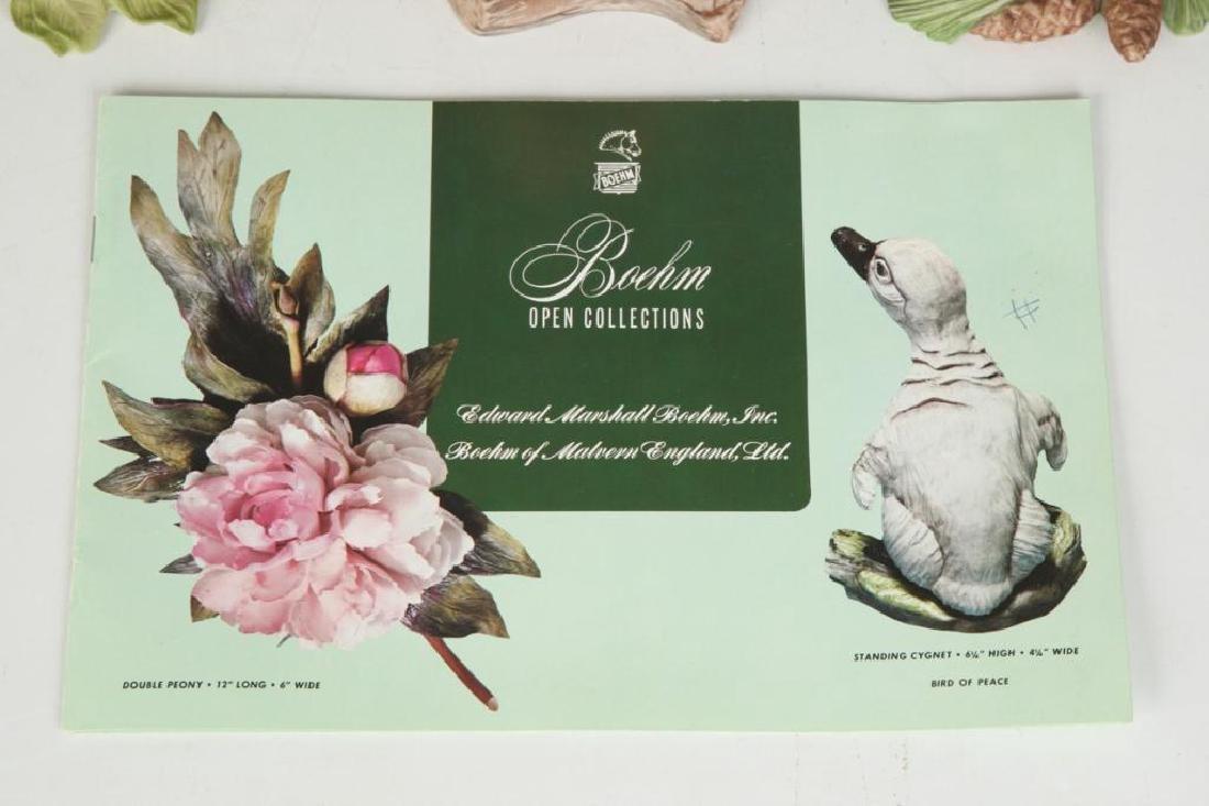 (9) BOEHM HARD PORCELAIN HANDPAINTED BIRDS - 4