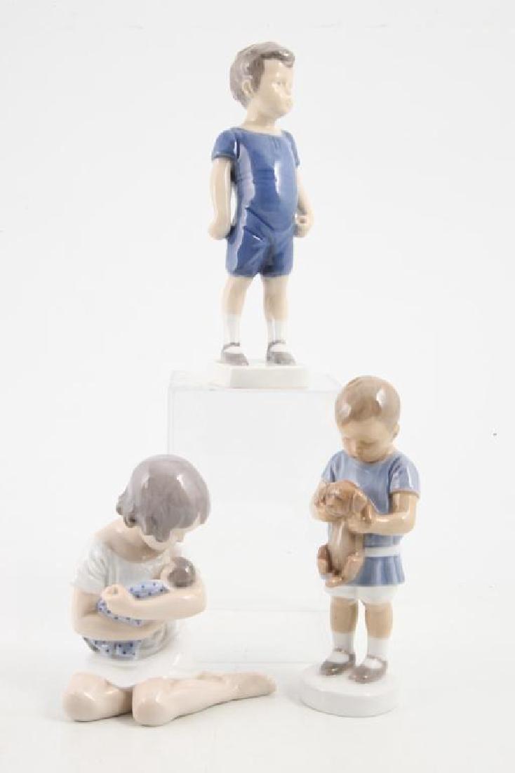 (7) ROYAL COPENHAGEN FIGURINES OF CHILDREN & PETS - 4