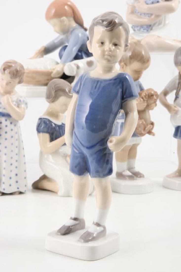 (7) ROYAL COPENHAGEN FIGURINES OF CHILDREN & PETS - 6