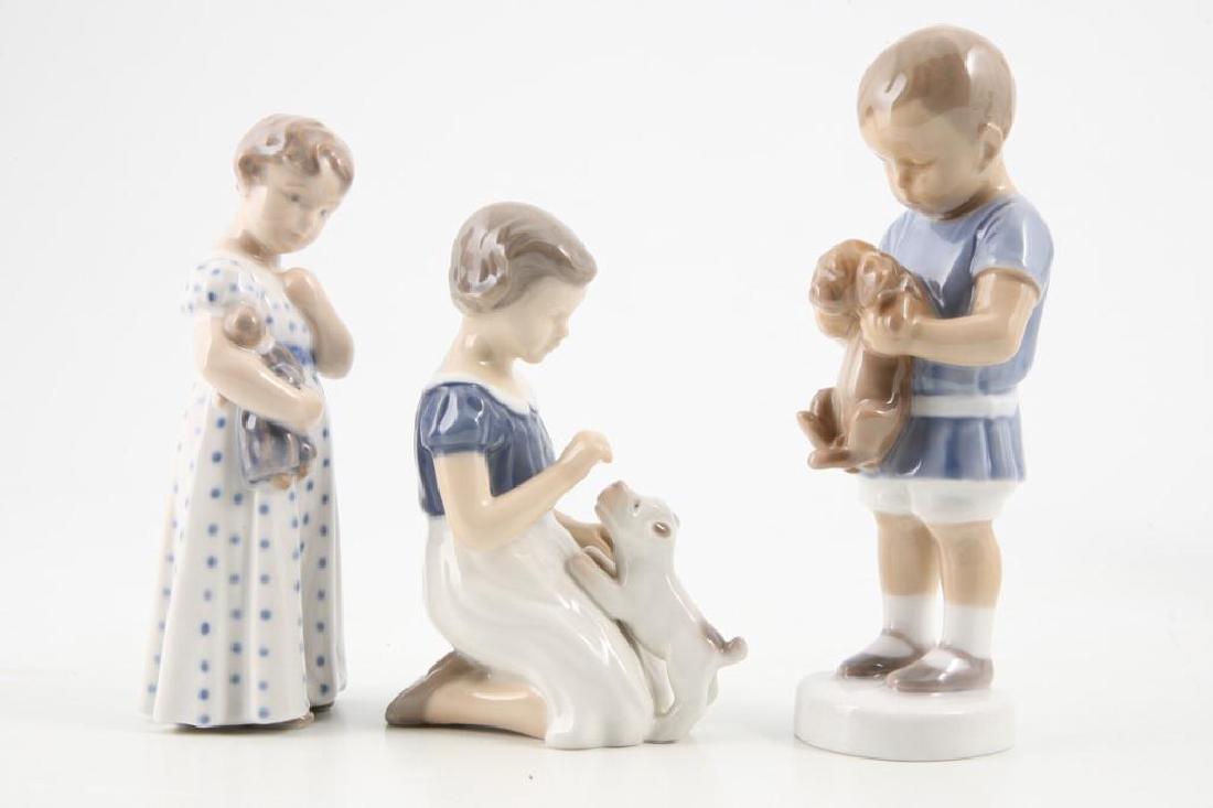 (7) ROYAL COPENHAGEN FIGURINES OF CHILDREN & PETS - 8