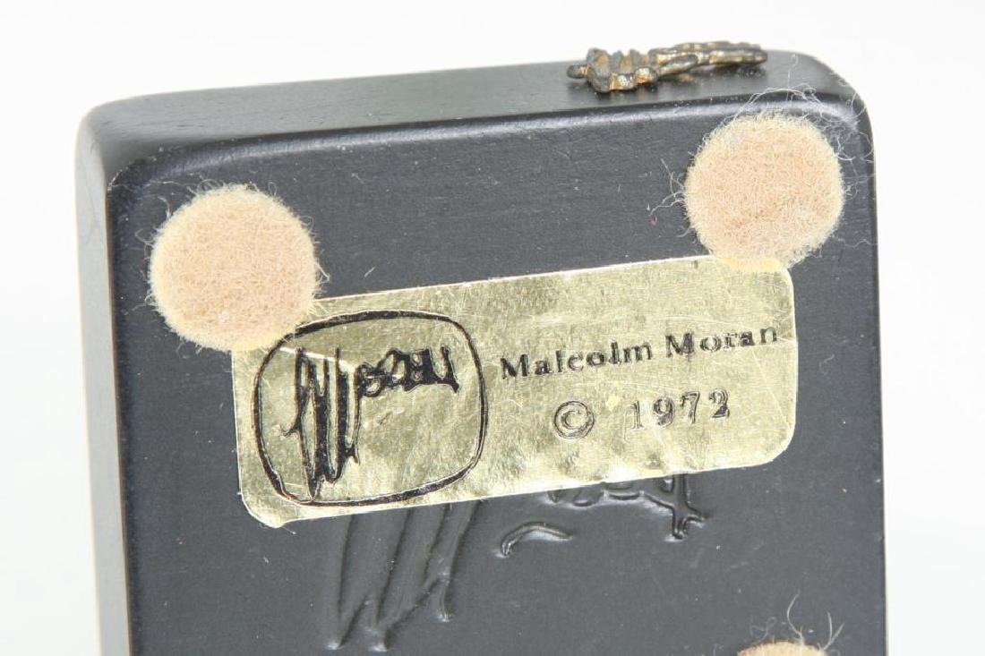 (6) MALCOLM MORAN SCULPTURES - 2