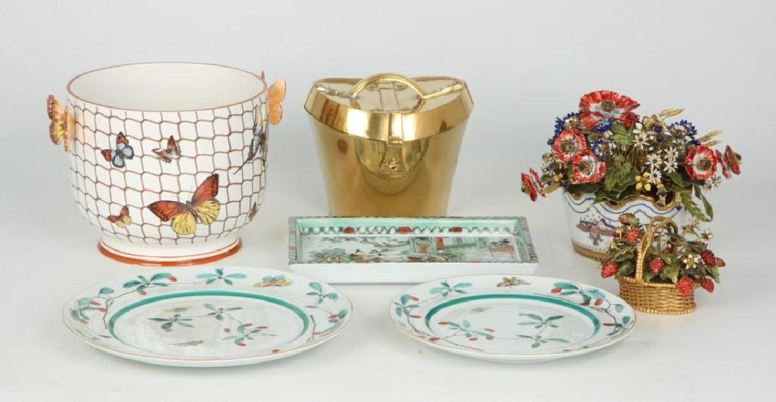 GROUP OF MOTTAHEDEH LUXURY HOME DECOR WARES - 5