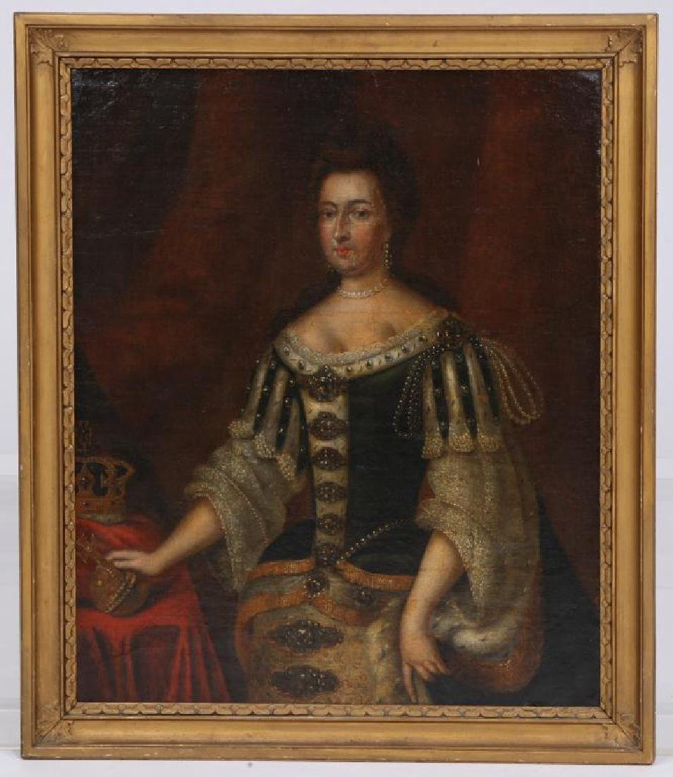 (18th c) PORTRAITS OF KING WILLIAM AND MARY - 10