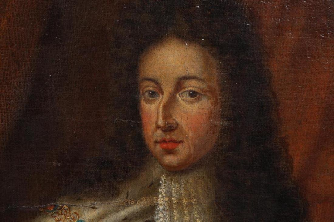 (18th c) PORTRAITS OF KING WILLIAM AND MARY - 4