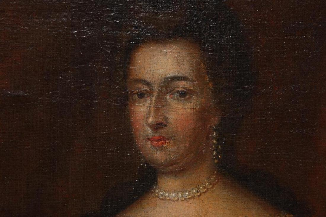 (18th c) PORTRAITS OF KING WILLIAM AND MARY - 7