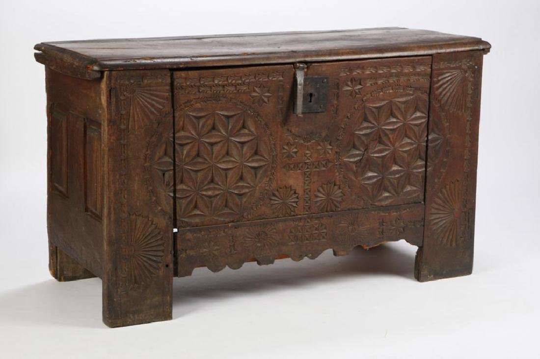 (17th c) SPANISH COLONIAL CHEST