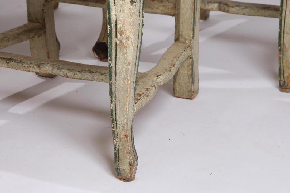 SET OF (6) FRENCH PROVINCIAL SIDE CHAIRS - 6