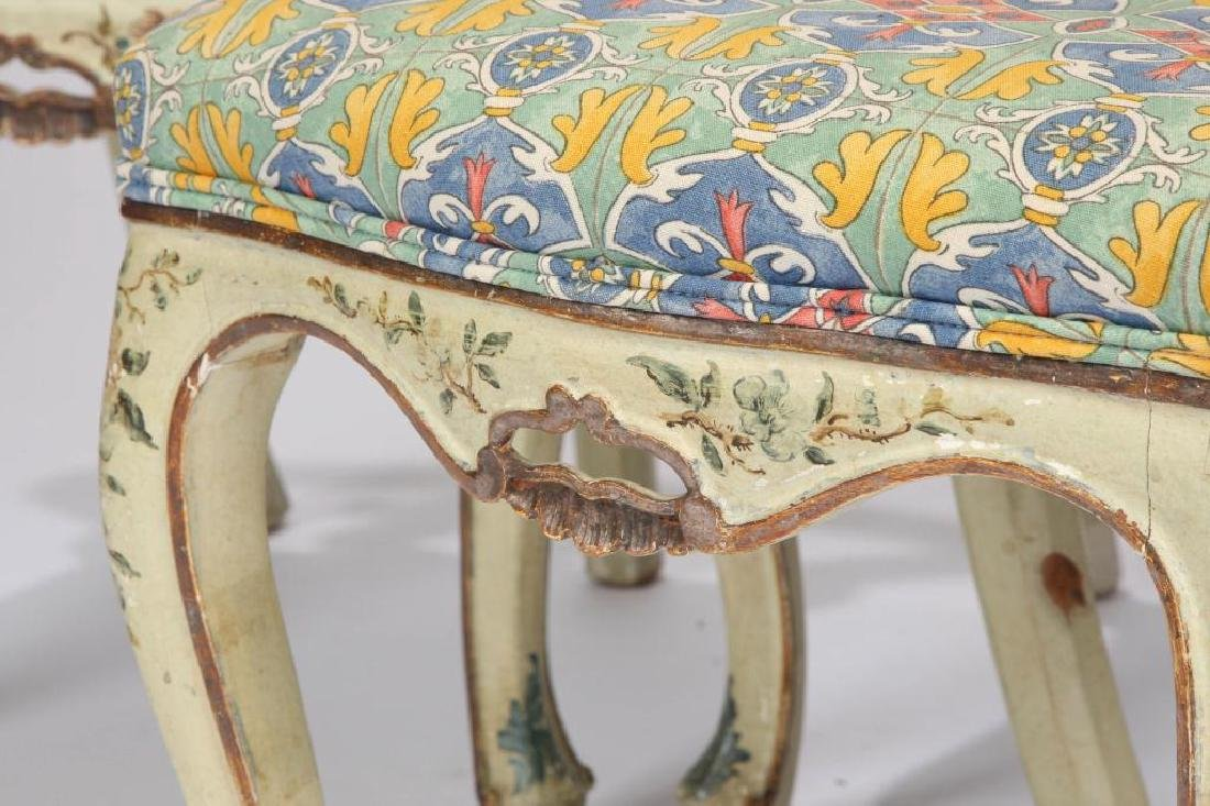 SET OF (4) FRENCH PROVINCIAL SIDE CHAIRS (19th c) - 4
