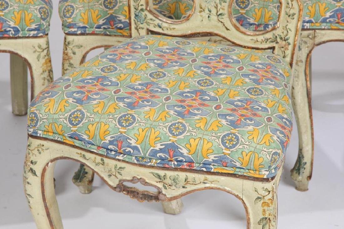 SET OF (4) FRENCH PROVINCIAL SIDE CHAIRS (19th c) - 5